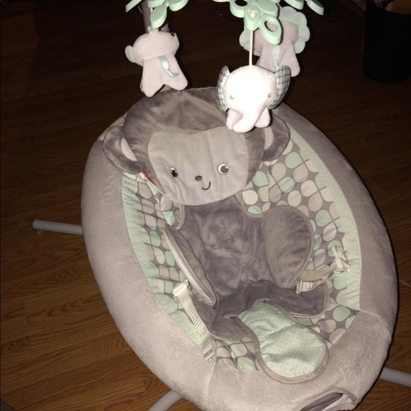 Sweet Surroundings Monkey Cradle N Swing